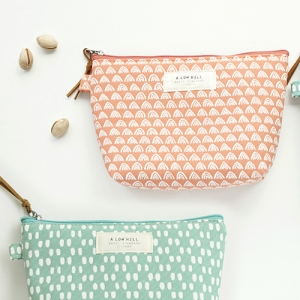 basic pattern pouch - drawing (M)
