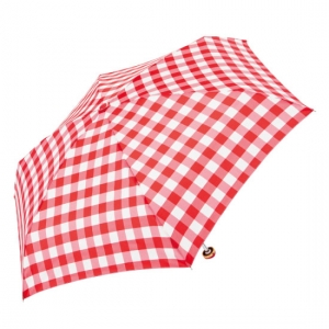 useful gingham mini 5단수동우산