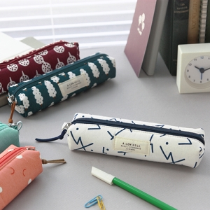 basic pattern pencil case