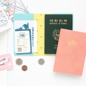 RAINBOW Passport Case